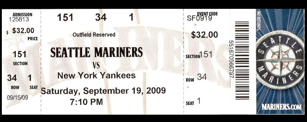 Image Gallery mariners tickets